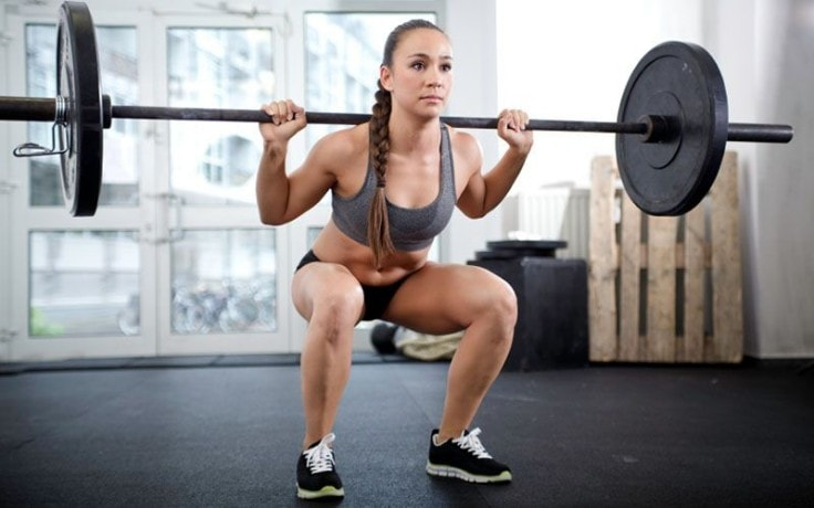 Good Ab Workouts - Barbell Squat