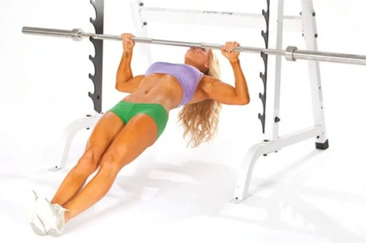 Good Ab Workouts - Inverted Row