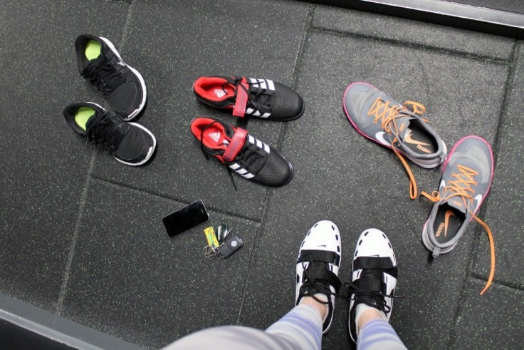 Weightlifting Shoes Are Better Than Running Shoes