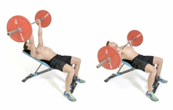 Best Full Body Exercises - Barbell Bench Press