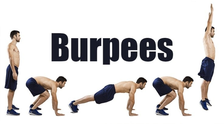 Best Full Body Exercises - Burpees