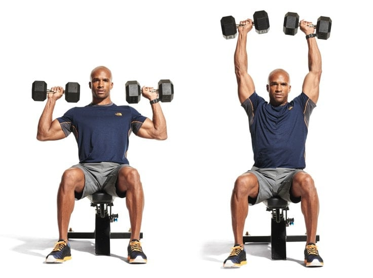 Best Full Body Exercises - Dumbbell Shoulder Press