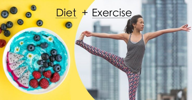 Combine Exercise With A Balanced Diet To Lose Weight Faster