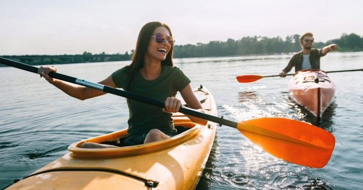 Kayaking Improves Your Fitness Levels