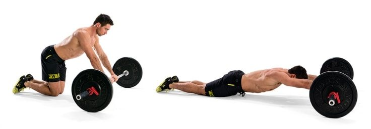 Barbell Rollouts