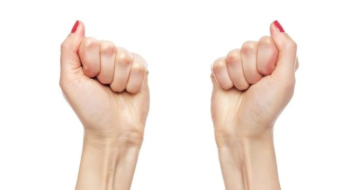 Fist Squeeze Exercise To Reduce Arm Flab