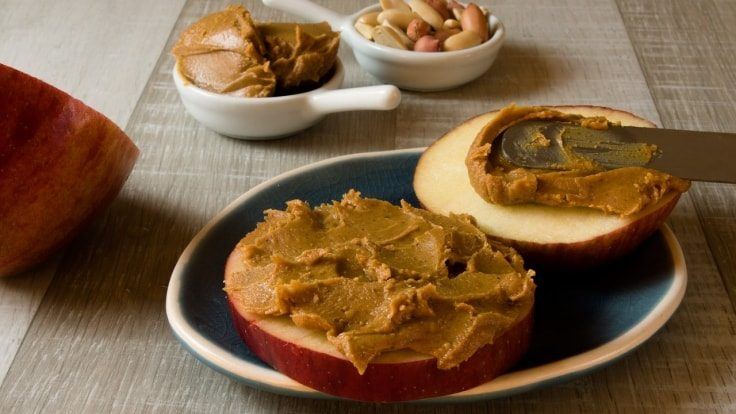Post-workout foods - Peanut Butter