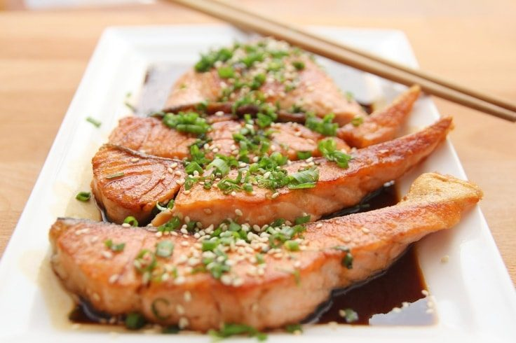 Post-workout foods - Salmon