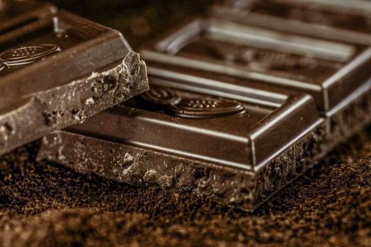 Pre-workout foods - Dark Chocolate