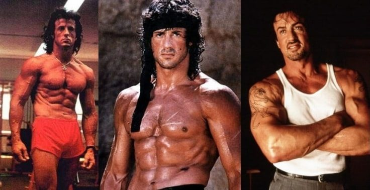 Famous Bodybuilders Who Used Steroids - Sylvester Stallone
