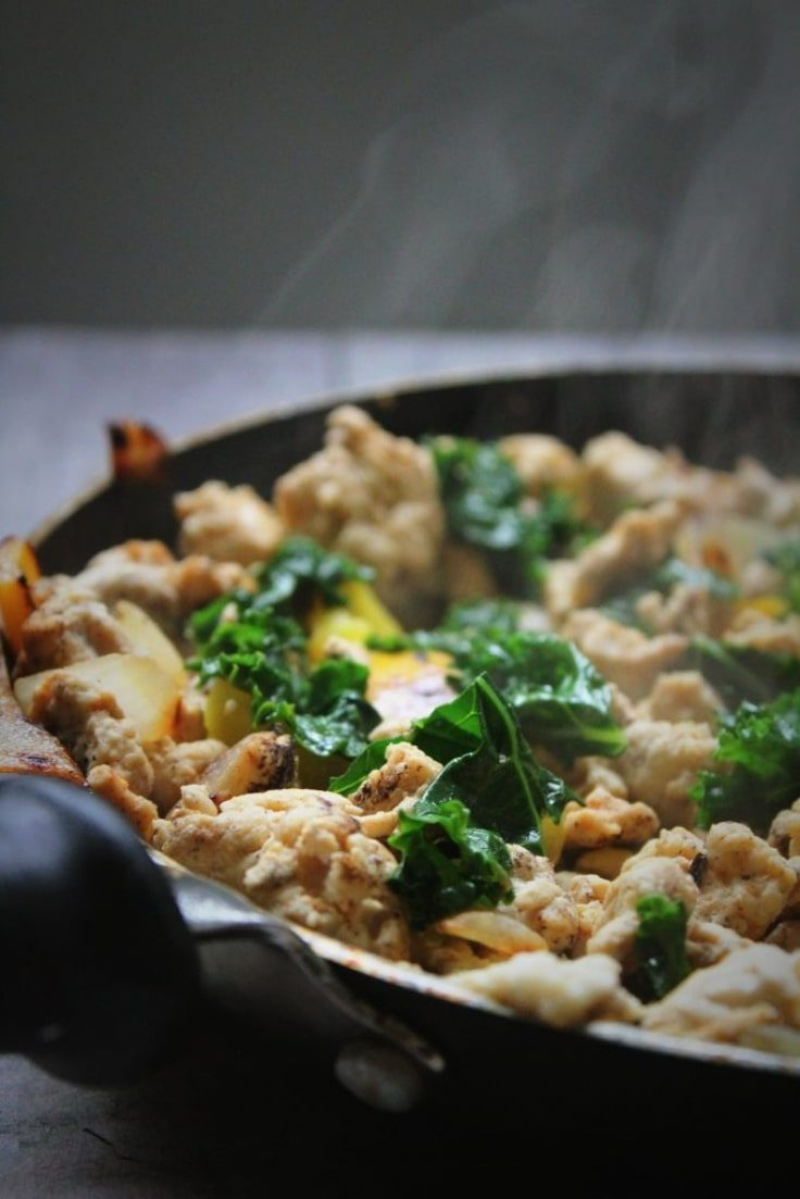 Whole30 Diet - Chicken Hash Recipe