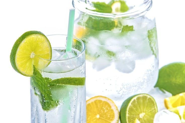 Belly Fat Burning Drinks - Lemon Water