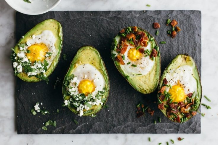 Avocado Breakfast Cups