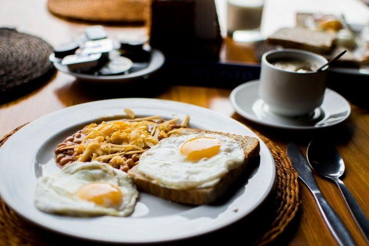 Eggs Breakfast To Ignite Fat-Burning