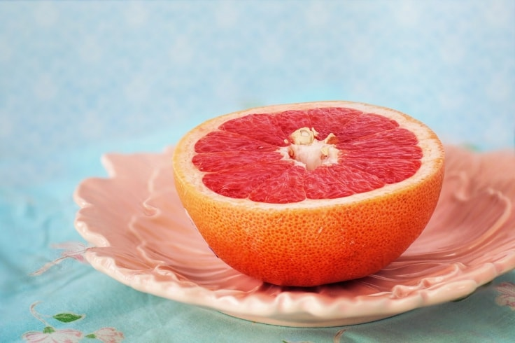 Grapefruits Are Fat-Burning Foods