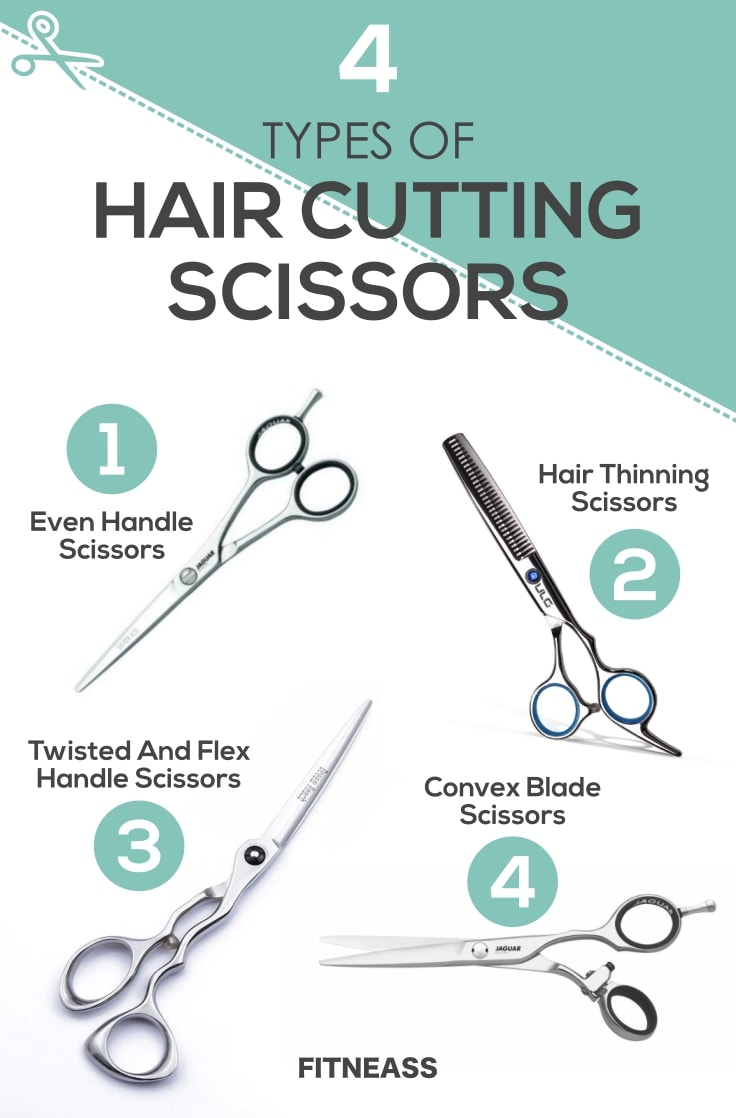 4 Most Common Hair Cutting Scissors