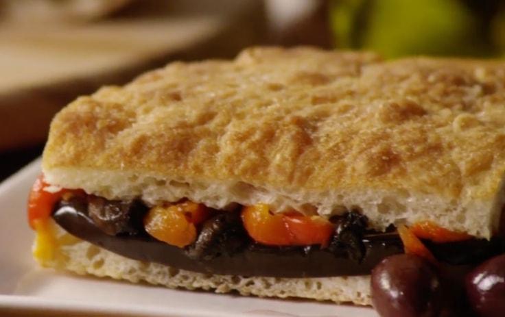 Mediterranean Vogue Grilled Vegetable Sandwich