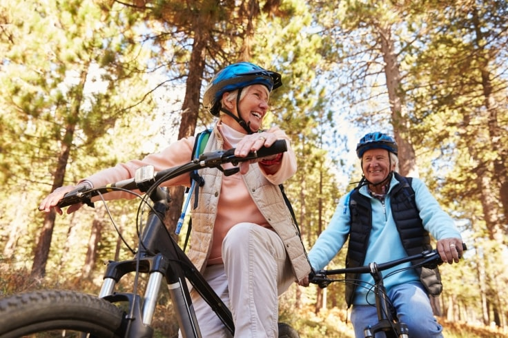 Biking Is A Great Outdoor Sport For Elderly