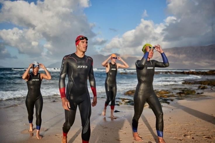 Equipment For Triathlon - Triathlon wetsuit
