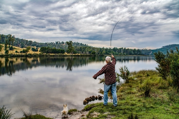 Low-Impact Sports For Seniors - Fishing