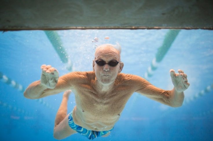 Healthy Hobbies For Seniors - Swimming