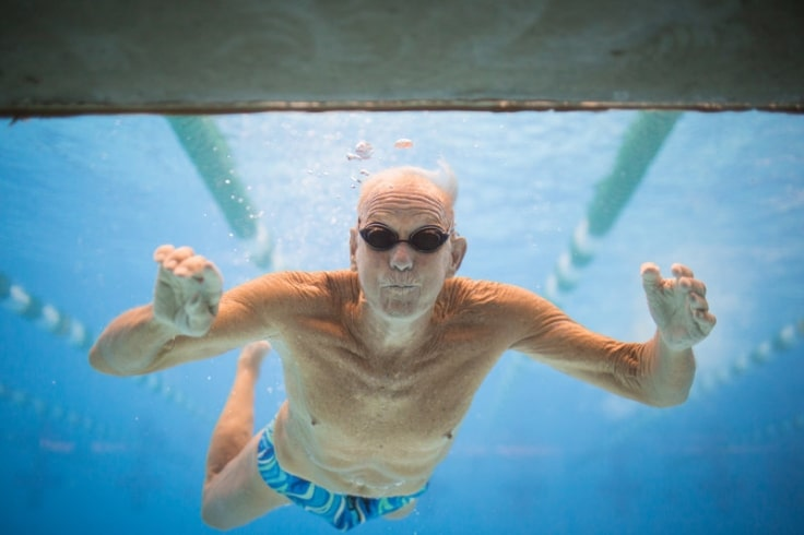 Low-Impact Sports For Seniors - Swimming