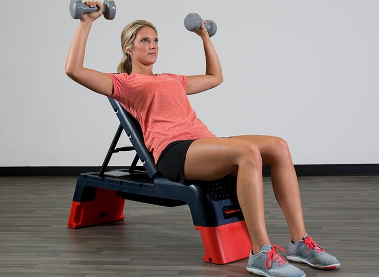 Using an Exercise Bench to get fit