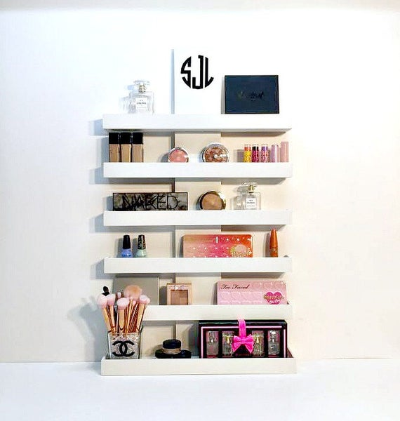 Small Shelves To Organize Your Makeup Items