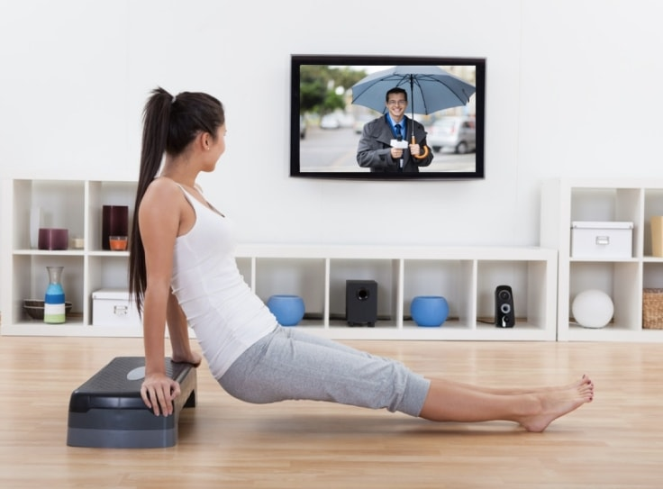 Watch An Addictive Tv Show And Exercise