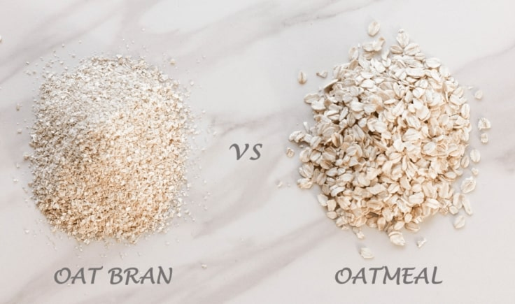 The Difference Between Oat Bran and Oatmeal