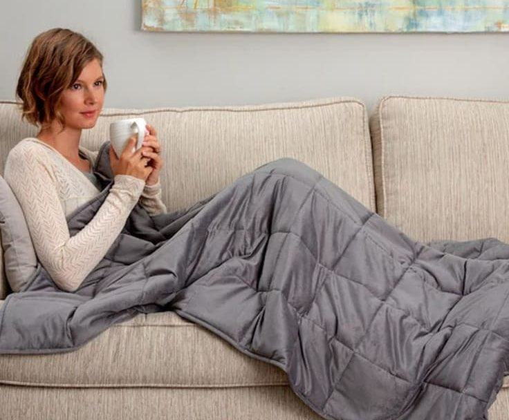 A Weighted Blanket Can Keep You Calm And Peaceful