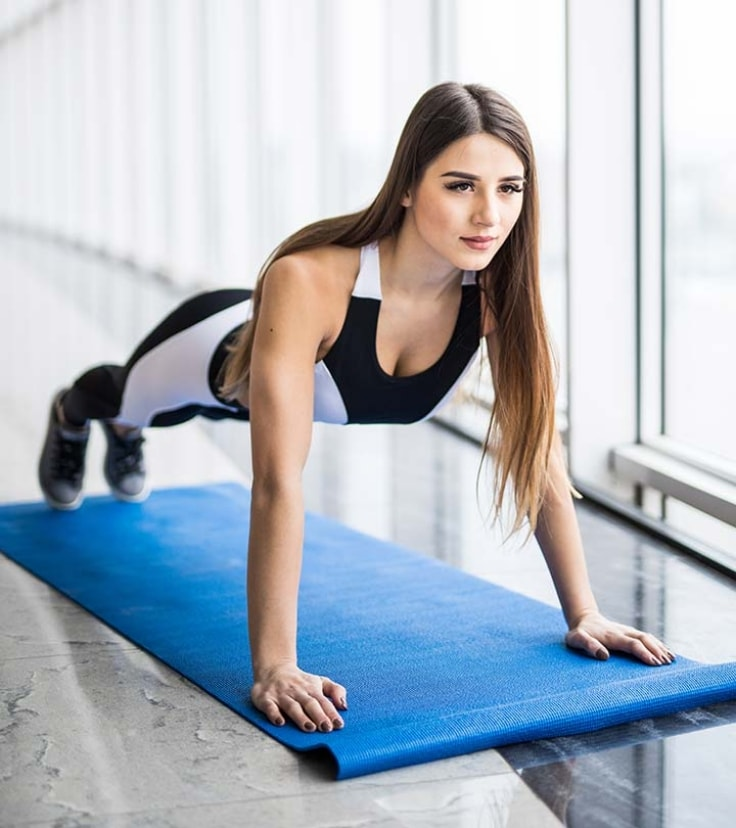 The Only Full-Body Exercises You Need - Plank
