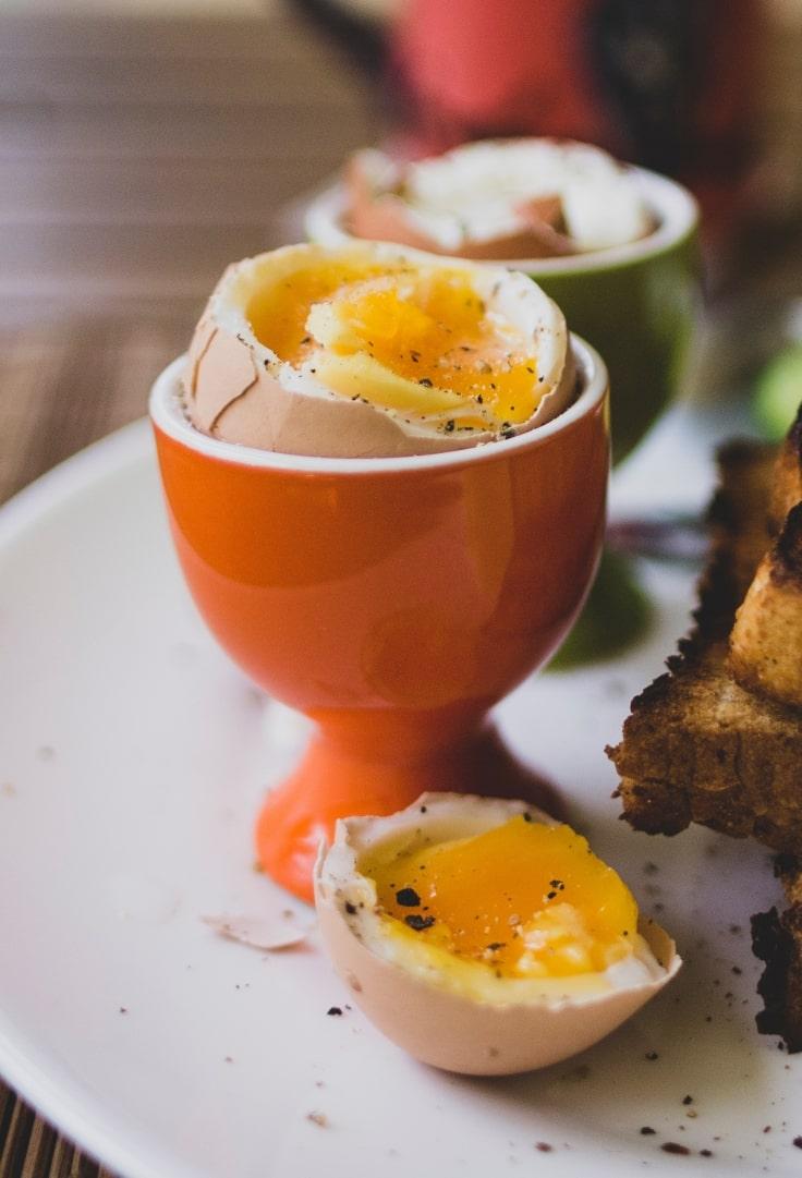 Boiled Eggs Help Burn Belly Fat