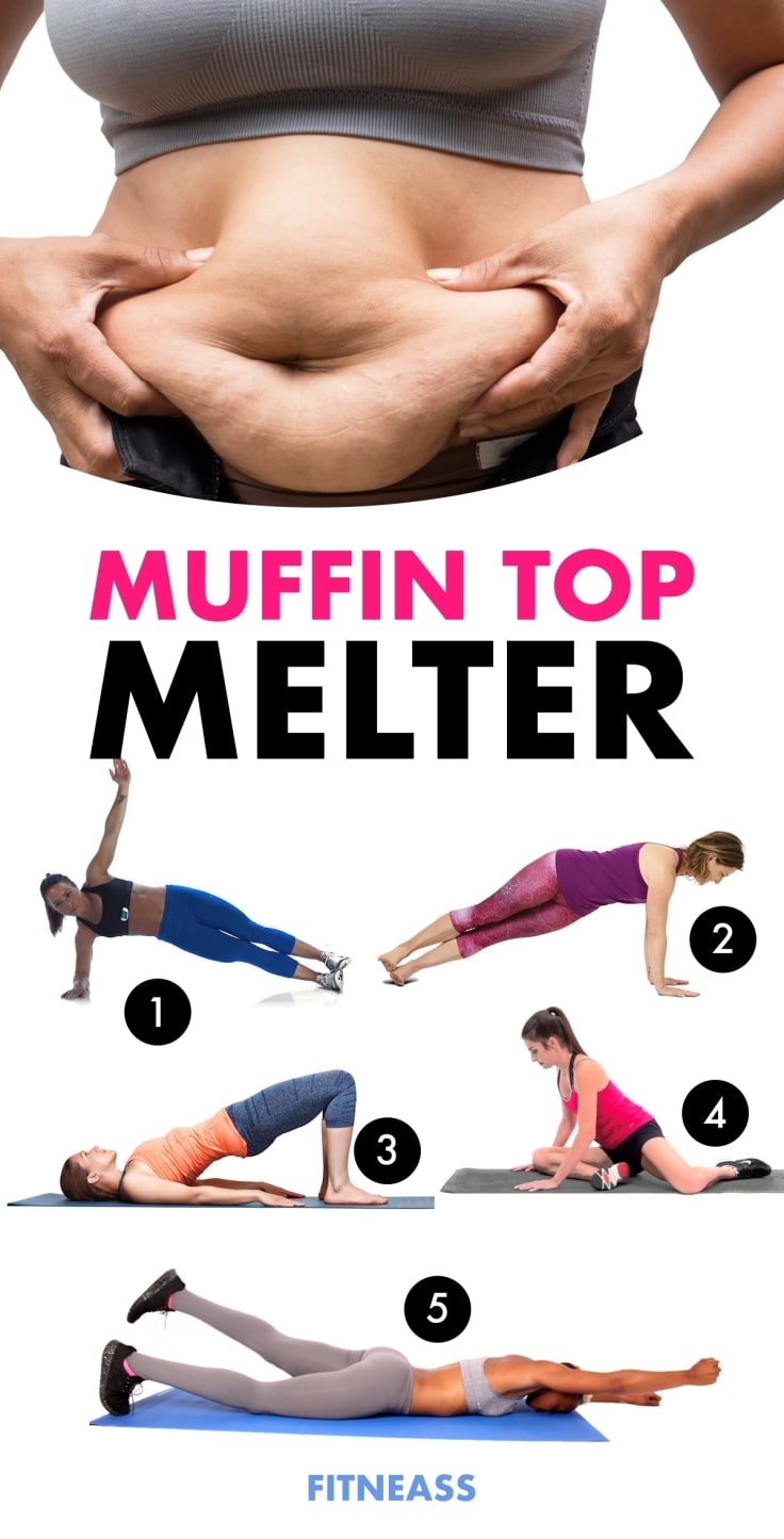 The Best Muffin Top Exercises