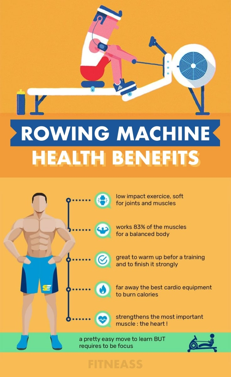 Health Benefits Of Using A Rowing Machine