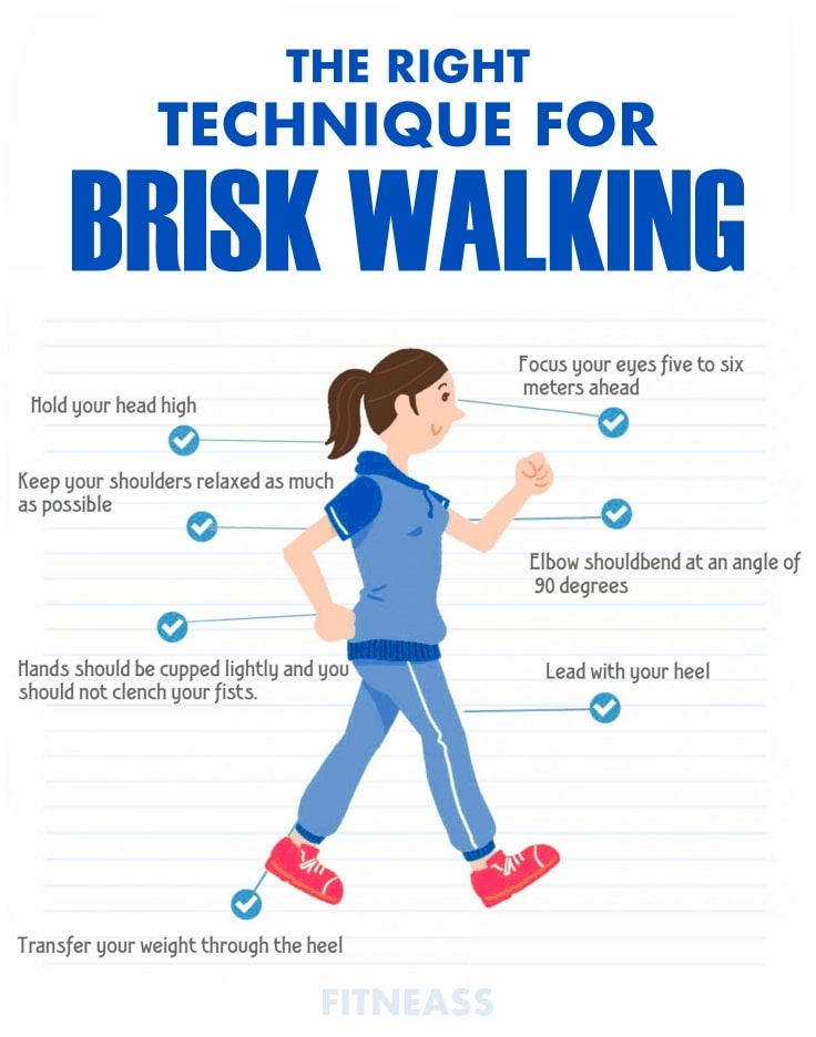 The Proper Technique Of Brisk Walking