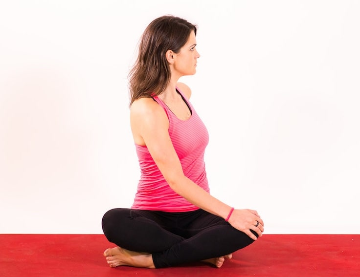 Seated Twist Pose