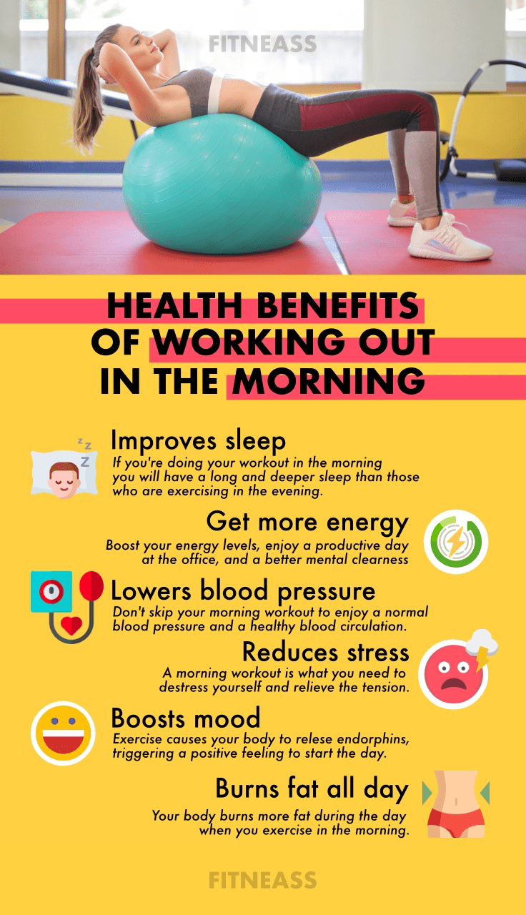 The Benefits Of Doing Your Workouts In The Morning