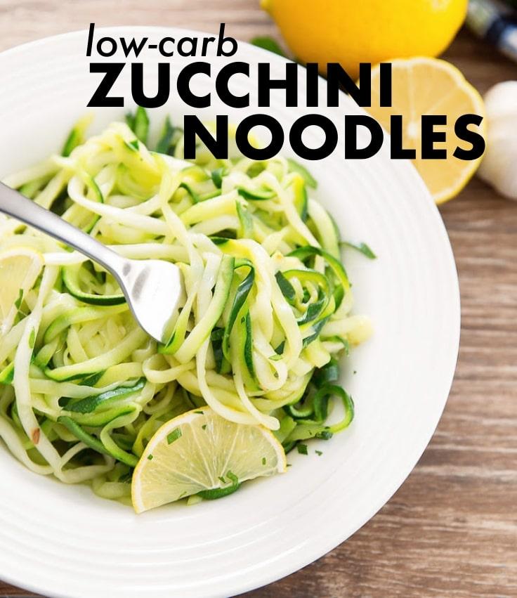 Low-Carb Zucchini Noodles
