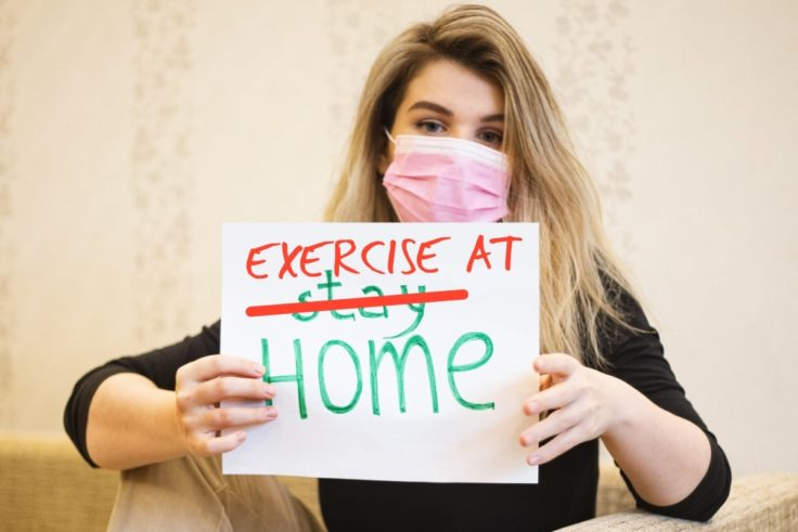 Home Workout To Get Rid Of The Quarantine Fat