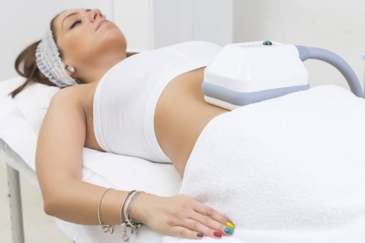 Cryolipolysis (Fat Freezing) On Belly Fat