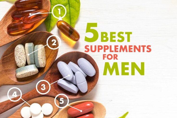 Top Five Health Supplements For Men