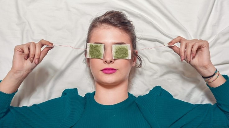 Use Green Tea Bags Use Milk To Remove The Dark Circles Under Your Eyes