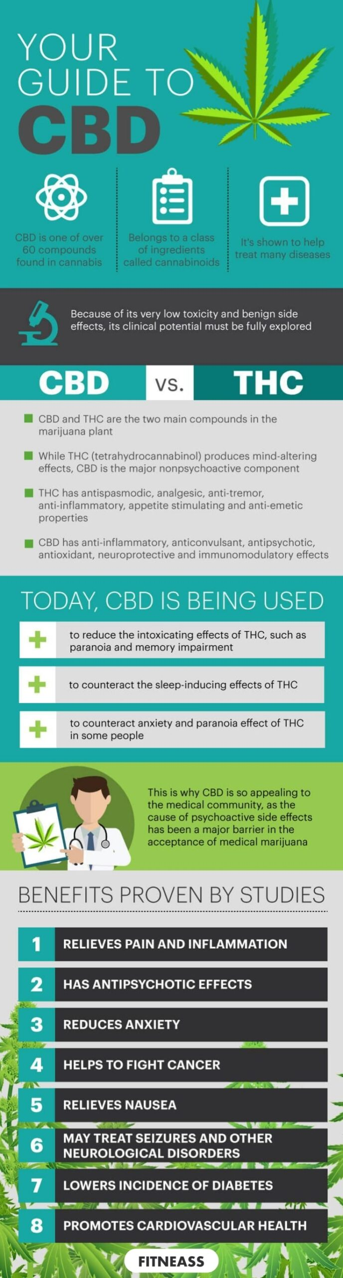 Your Guide To CBD - Infographic