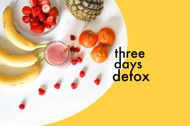 Re-Energize Your Body With This 3-Day Detox Plan