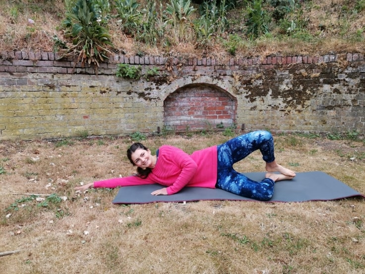 Pilates Exercises For Runners - Clam
