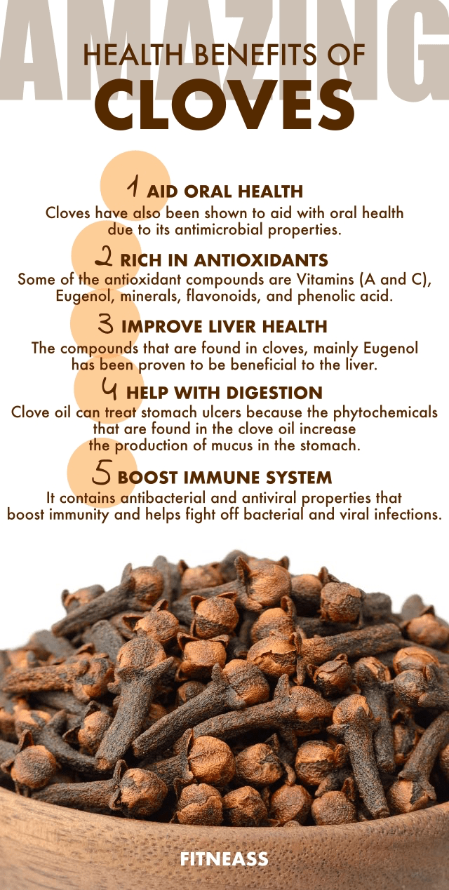 Amazing Health Benefits Of Cloves