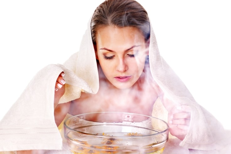 Beauty tips for face - Facial Steaming