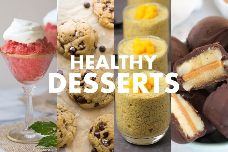 Healthy Dessert Recipes For The Entire Family