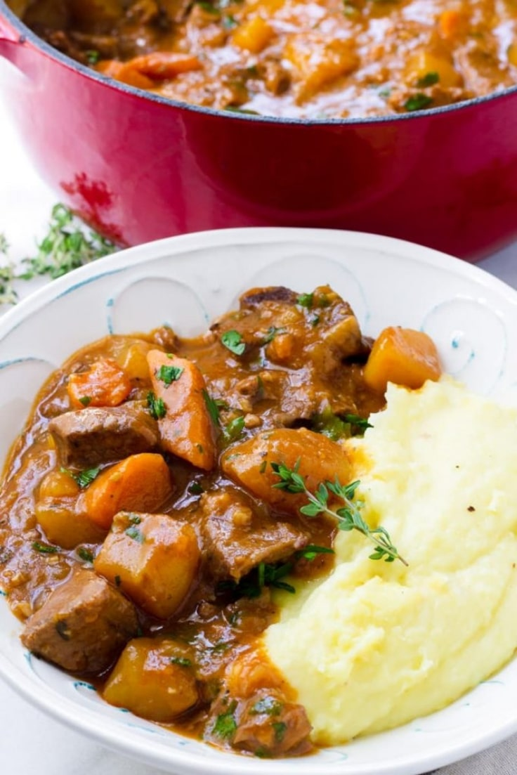 Healthy Dutch Oven Recipes - Beef Stew
